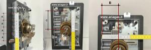 Come prendere le misure della serratura